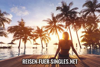 Urlaubsreise als Single