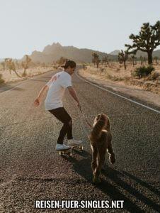 Urlaub Single mit Hunde