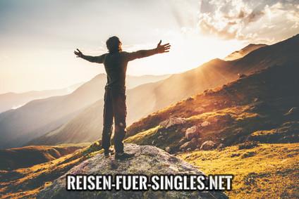 Reisen für Singles Ü50